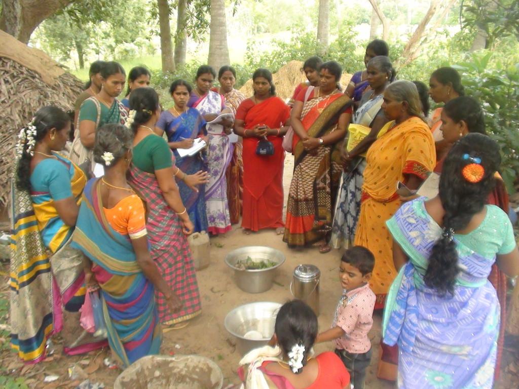 Demonstration on Biopesticide preparation - Training for Directors of Thiruvarur FPO